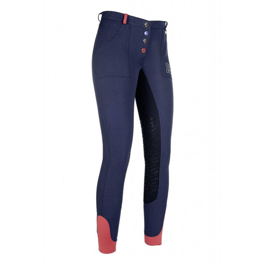 Breeches Performance with 3/4 Alos Seat & Silicone Knee Patches