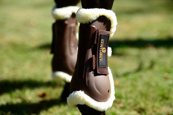 Kentucky Sheepskin Lined Tendon Boots