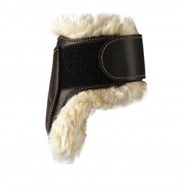 Leather Fetlock Boots with sheepskin