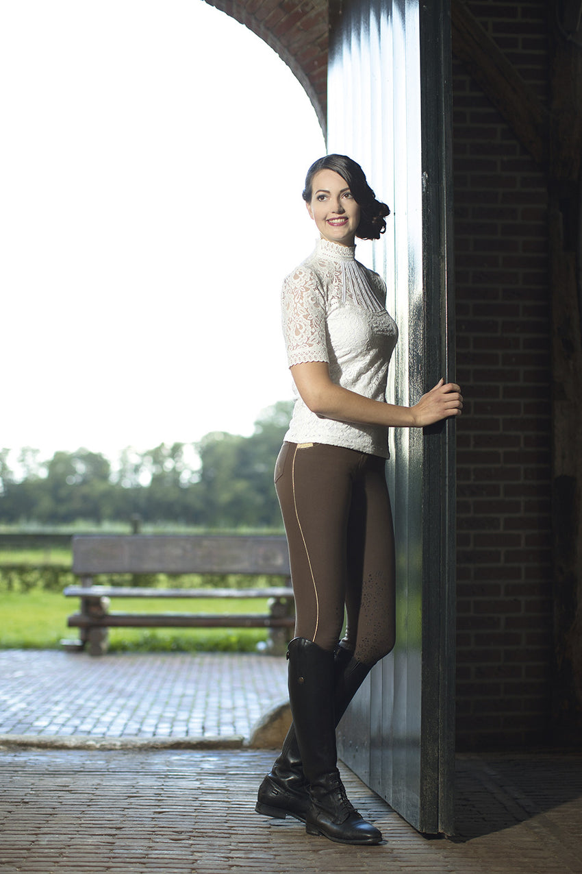 Silicone Knee Patch Breeches