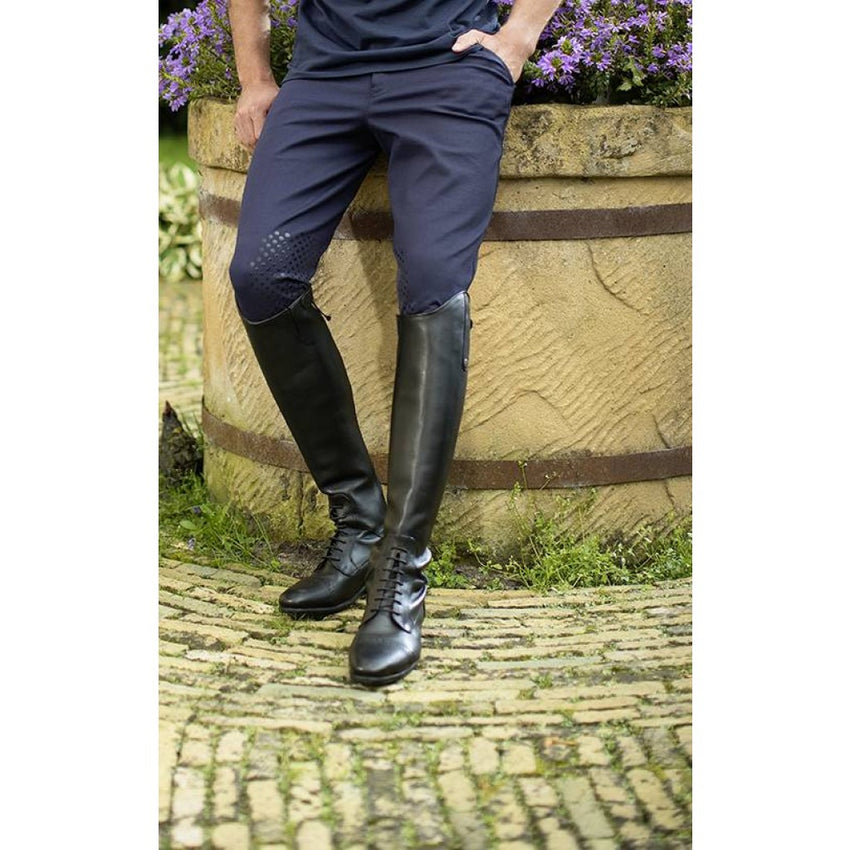 Mens breeches with knee patches