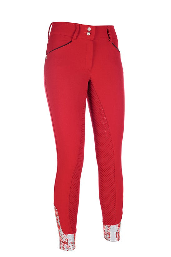 Red Silicone Seat Breeches