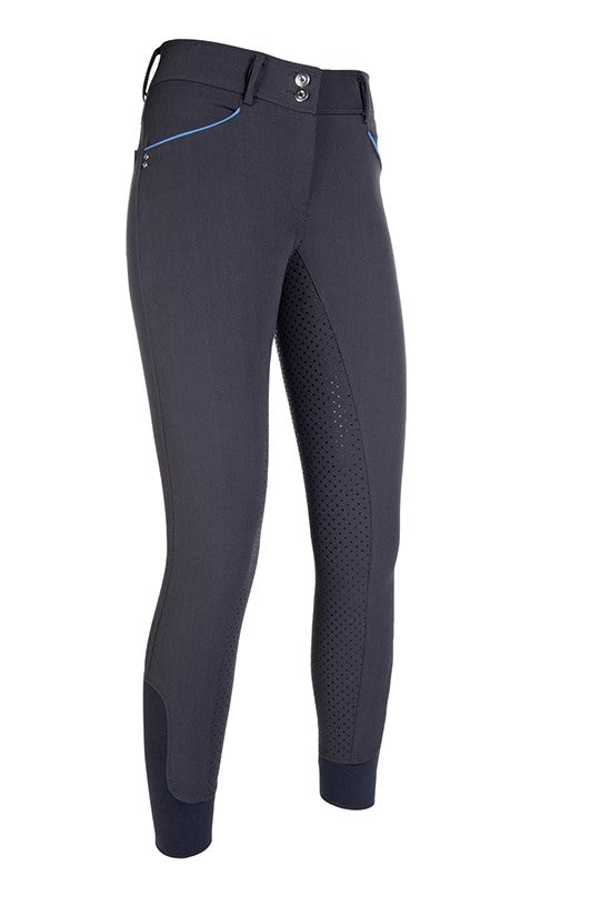 Dark Grey Silicone Seat Breeches