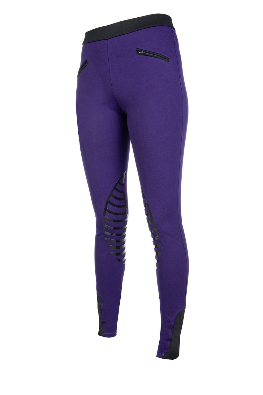 Mark todd silicone knee patch riding leggings.