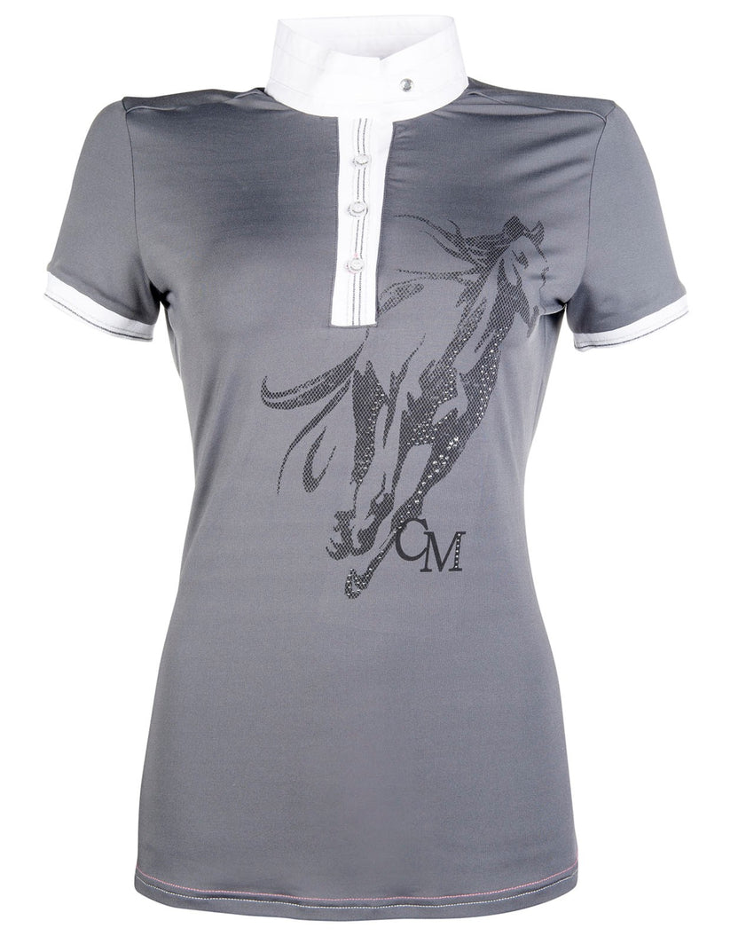 Ladies Grey Competition Shirt