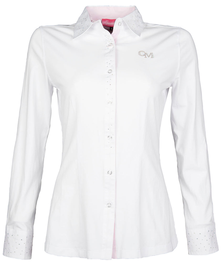 Ladies White Riding Shirt