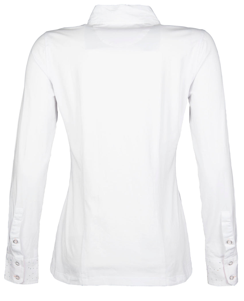 White Riding Shirt
