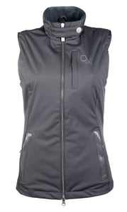 Dark Grey Riding Vest