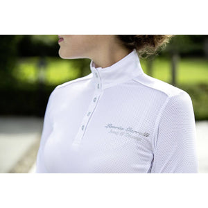 White Long Sleeve Competition Shirt