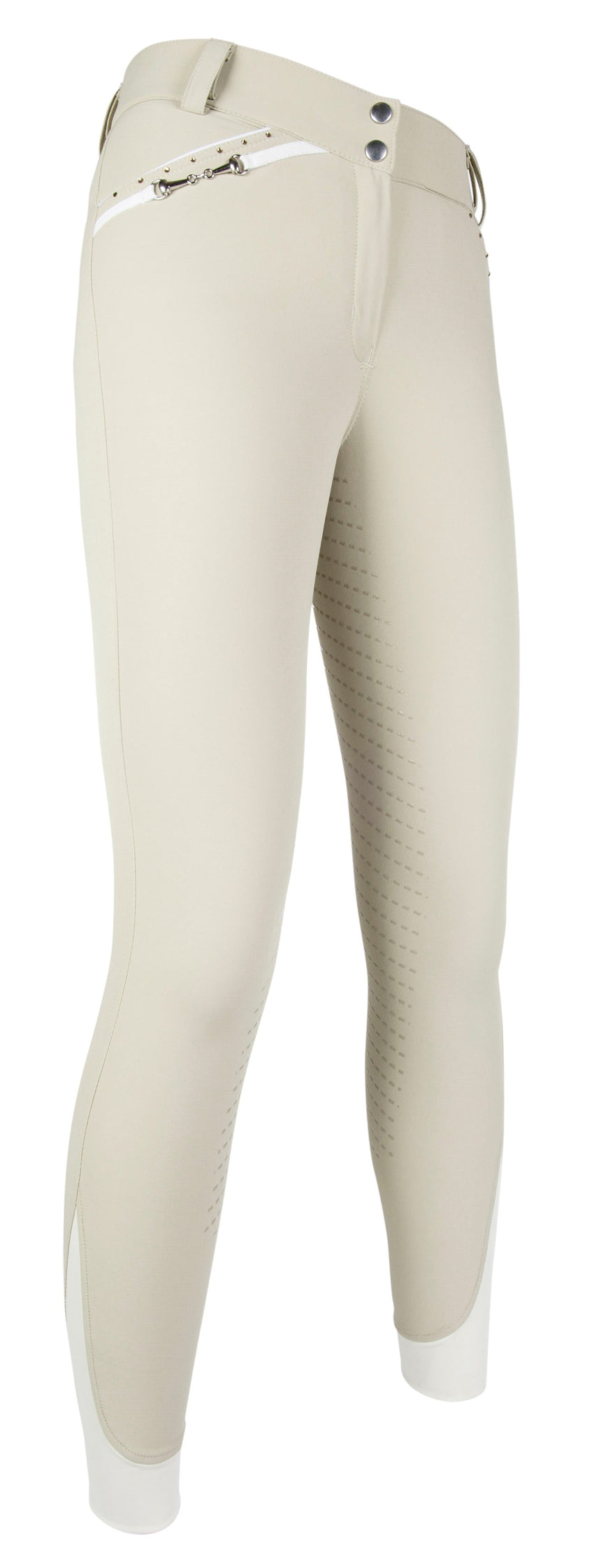 Beige Silicone Seat Breeches