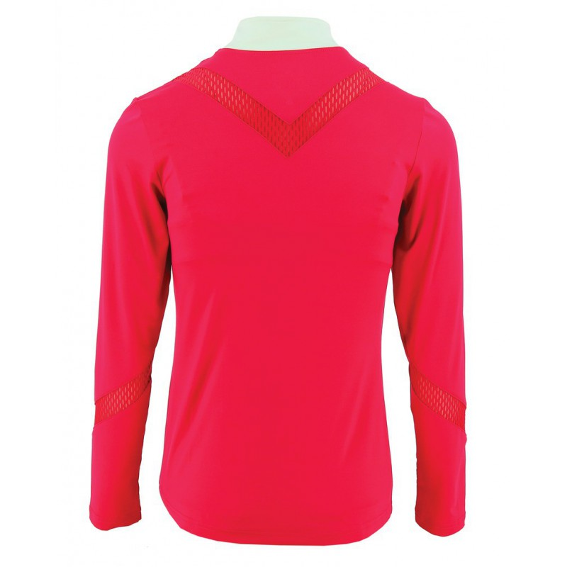 Pink Long sleeve show shirt