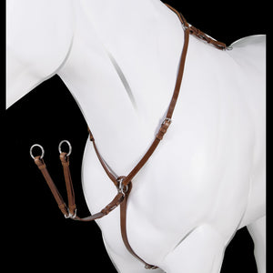 Acavallo Calfskin Leather Hunting Breastplate