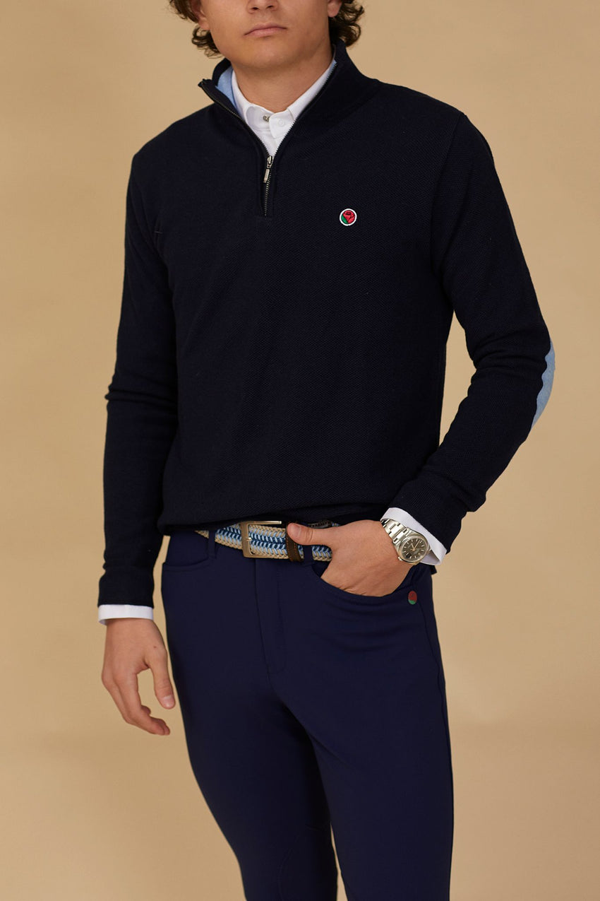 Navy Men's Sweater