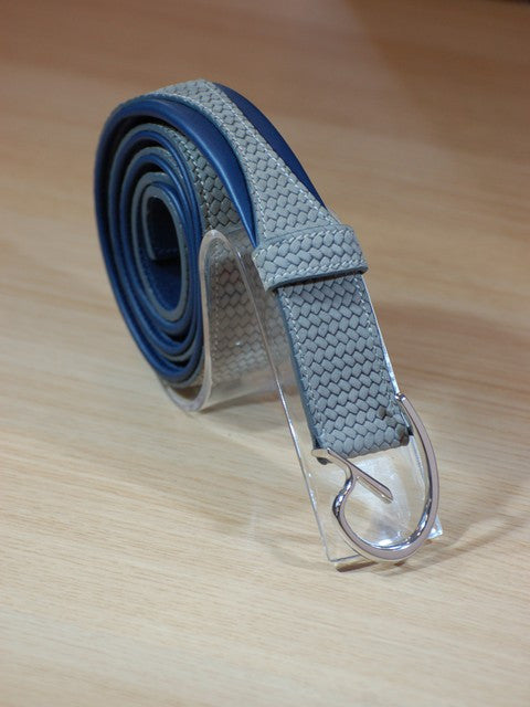 Grey Riding Belt