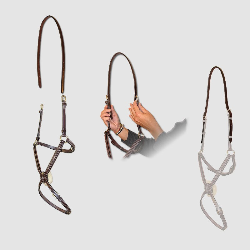 Strap to Adapt double sided noseband