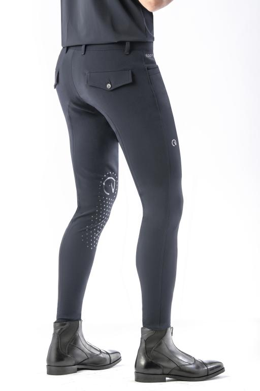 Mens navy riding breeches