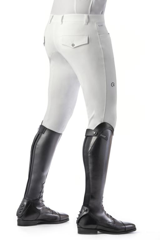 White mens competition breeches