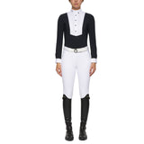 Toscana Navy and white show shirt