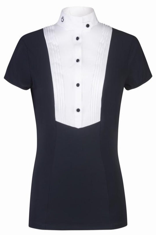 Toscana Navy Show Shirt with bib