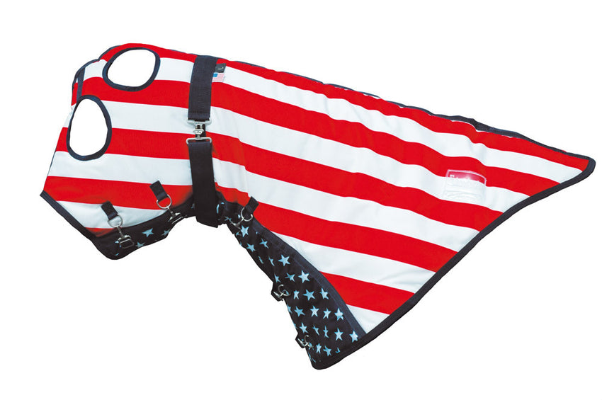 USA Flag Stable Hood