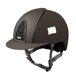 KEP Cromo Polish Helmet Brown