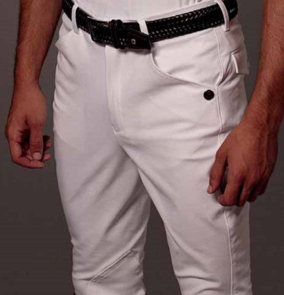 Men's White Competition Breeches