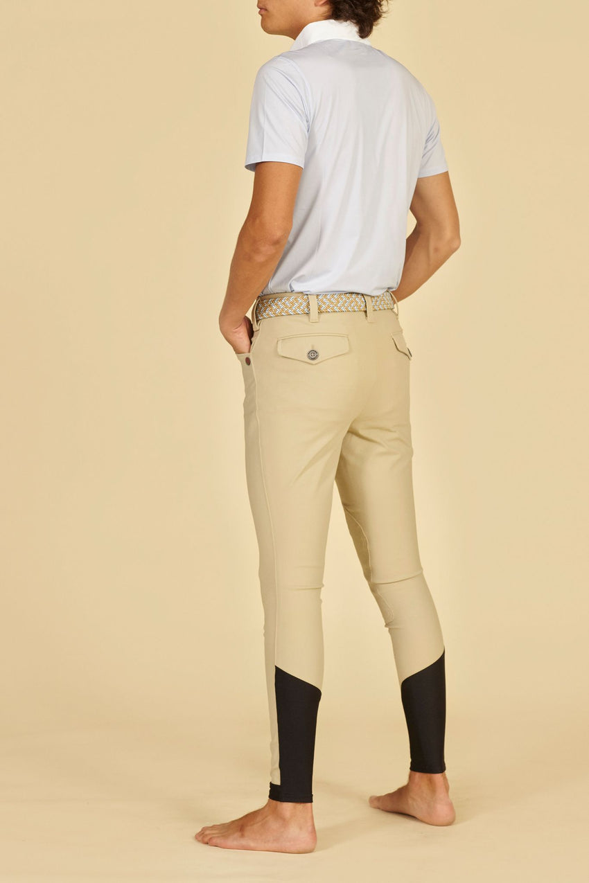 Manfredi Beige Men's Breeches