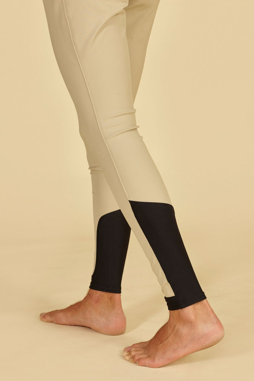 Beige Breeches for Men