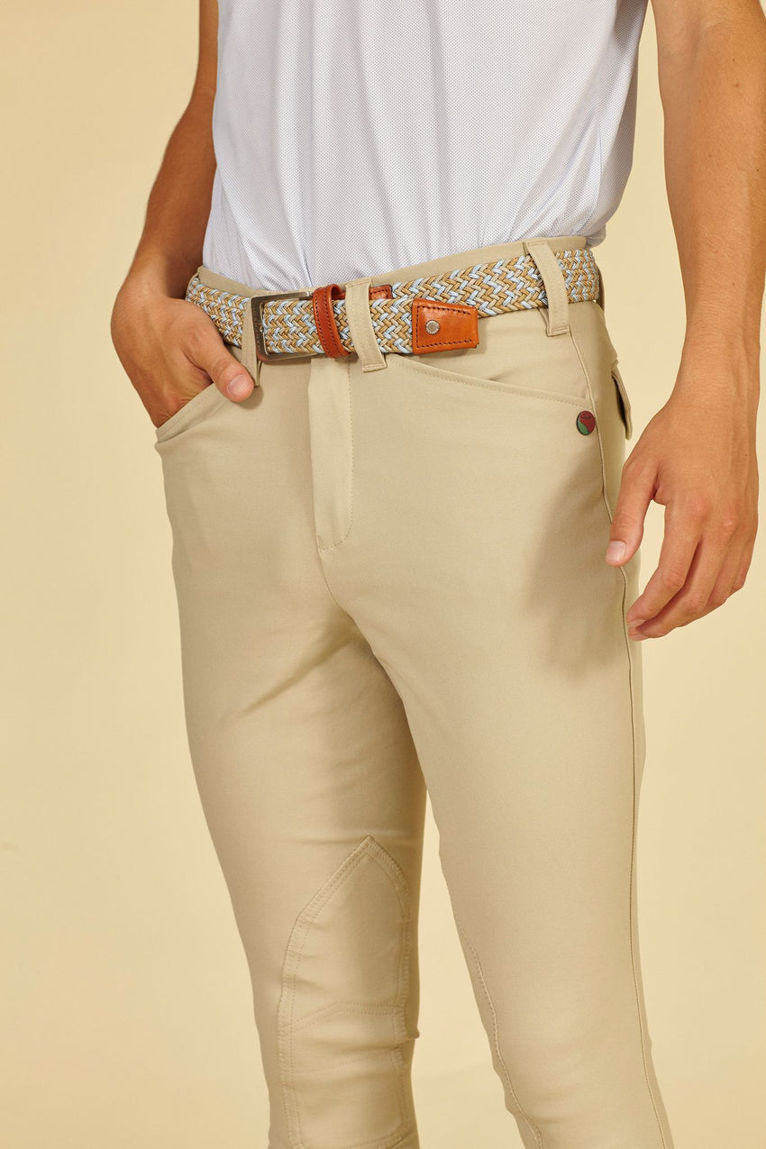 Beige Men's Breeches