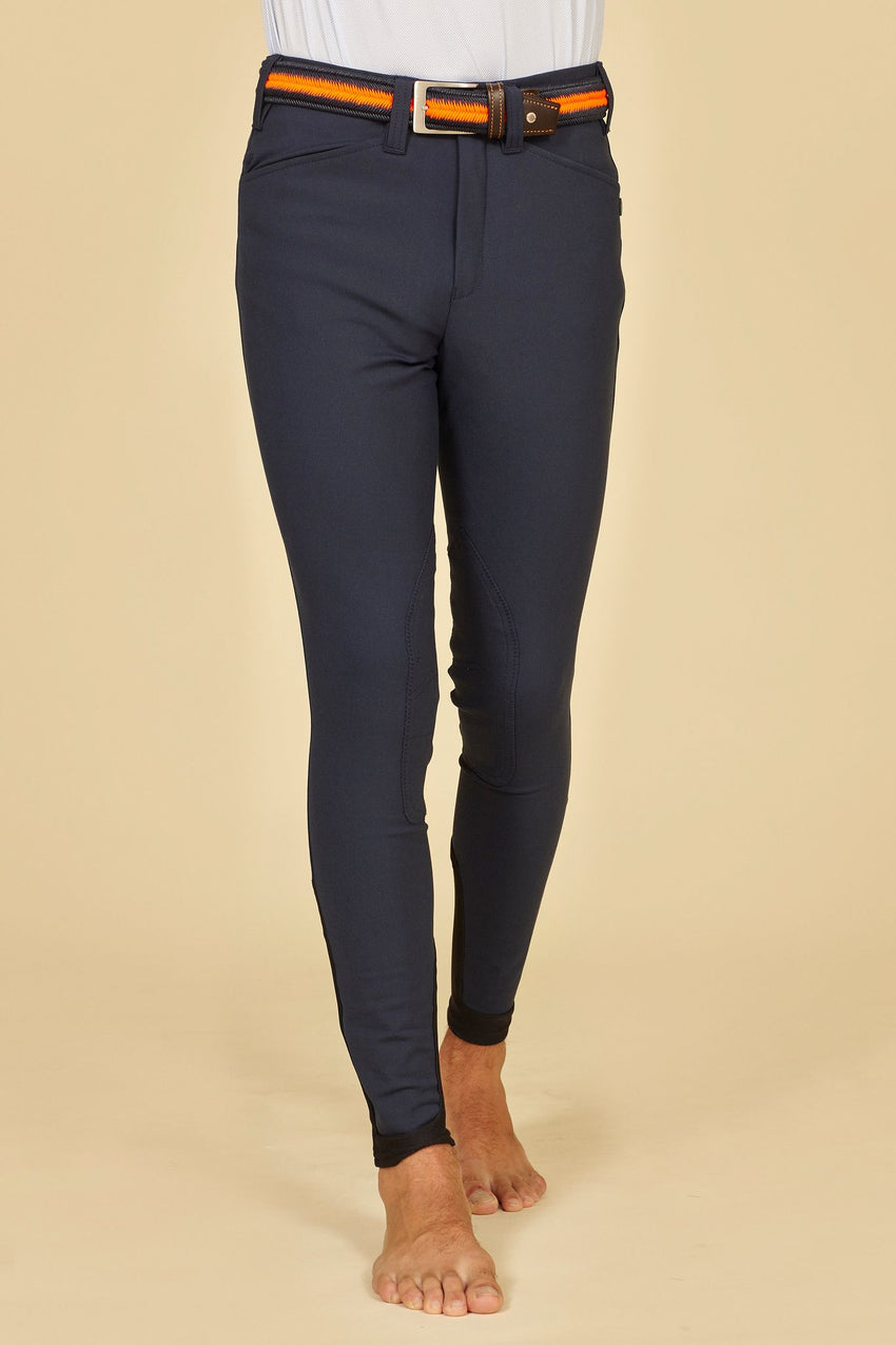 Navy Men's Show Jumping Breeches
