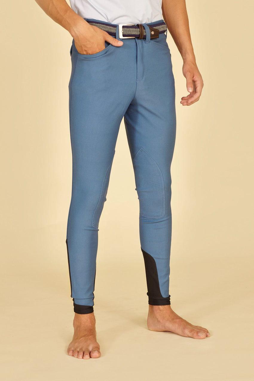 Steel Blue Men's Breeches