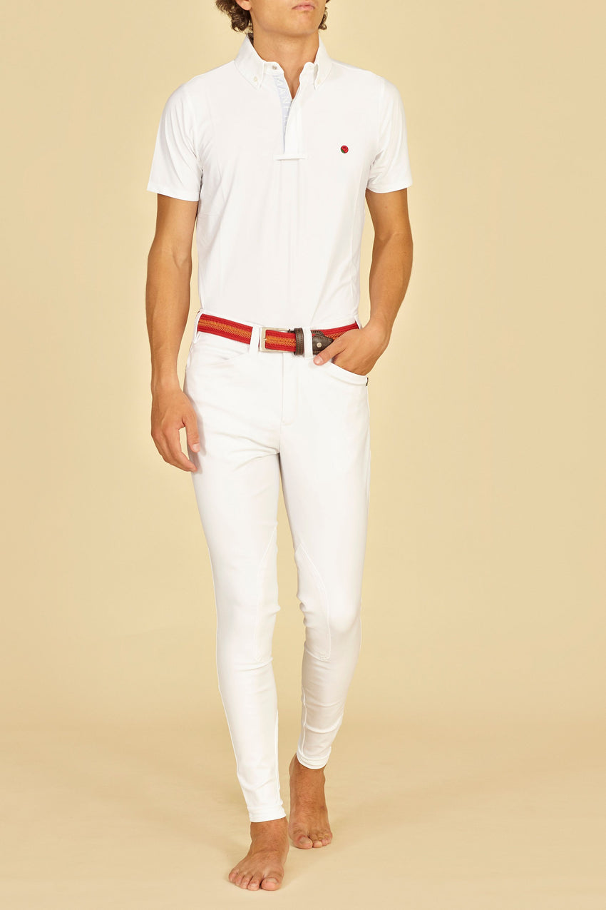 Manfredi Men's Breeches white
