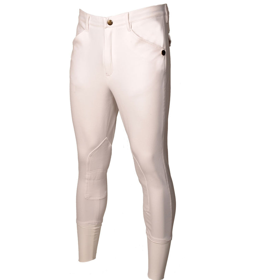 Men's White Show Jumping Breeches