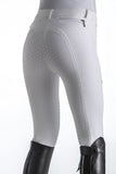 White Breeches with Full Grip Seat