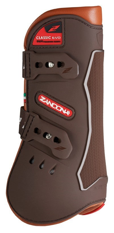 Brown Tendon Boots in Pony Size