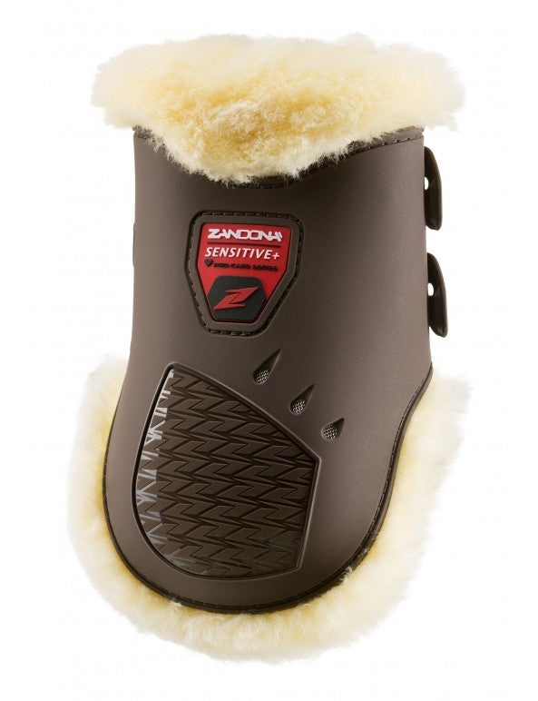 Brown Sheepskin Fetlock Boots