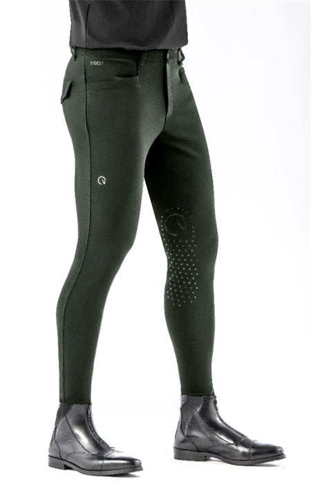 Army Green Men's riding breeches