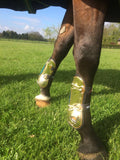Gold Horse Boots
