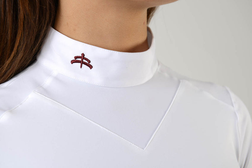 White Show Jumping Shirt