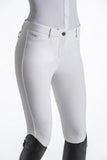 White Breeches with knee grip