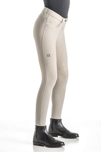 Beige Breeches with Knee Grip