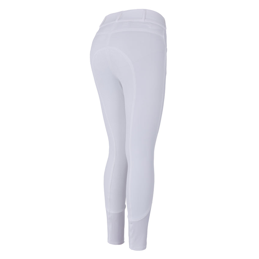White Silicone Full Seat Breeches