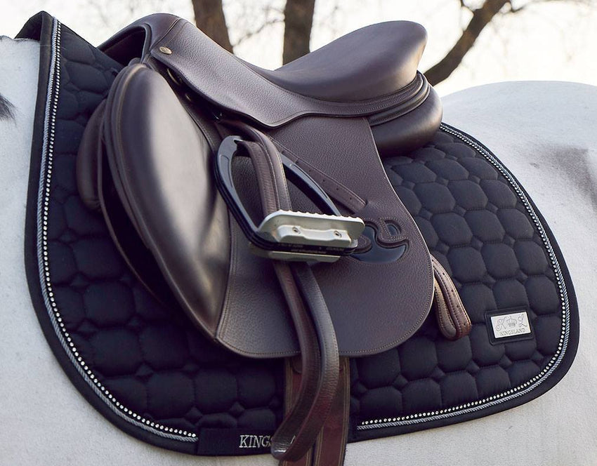 Kingsland saddle pad with crystals