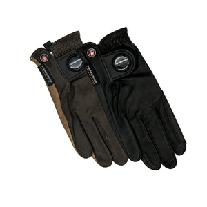 Ladies finest leather riding gloves
