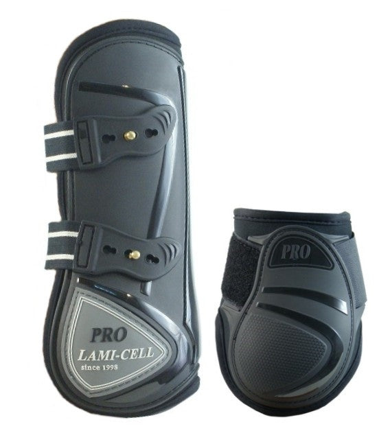 Lamicell ELITE protection boots PONY black, set of 4