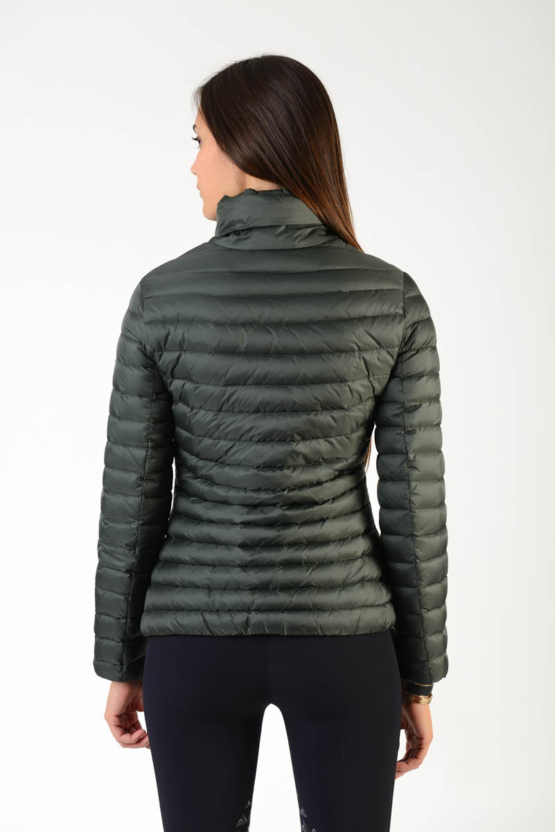 Green Down Riding Jacket