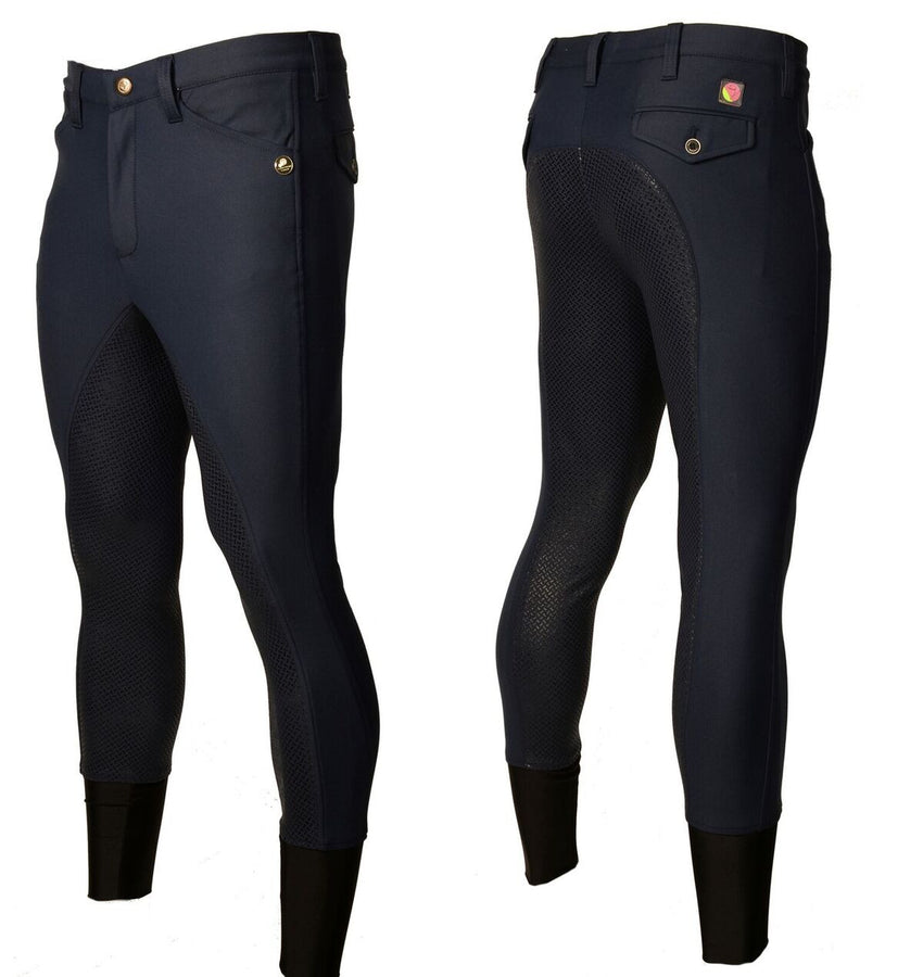 Full Silicone Seat Men's Breeches