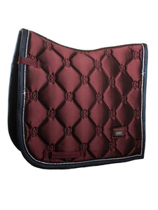 Equestrian Stockholm Merlot Crystal Saddle Blanket