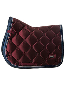 Equestrian Stockholm Bordeaux Jump Saddle Blanket