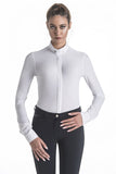 Long Sleeve White Show Jumping Shirt